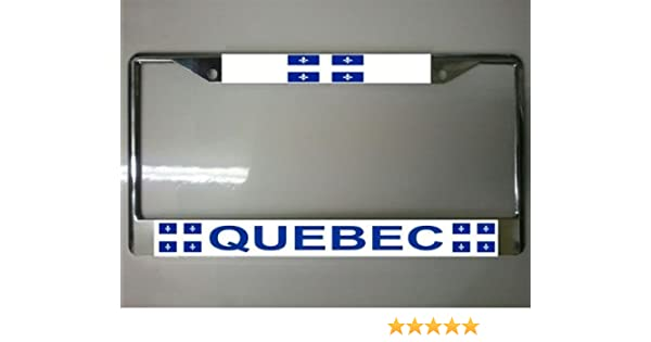 Canada License Plate Frame Free Screw Caps with This Frame
