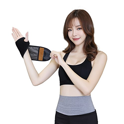 QuickWin USB Far Infrared Heating Pad Therapy Wrist Belt, for Lower Wrist Pain and Dispel the Sence of Fatigue - Pad Heating Wrist