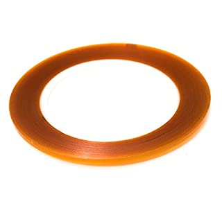 Bertech Double-Sided Polyimide Tape, Amber