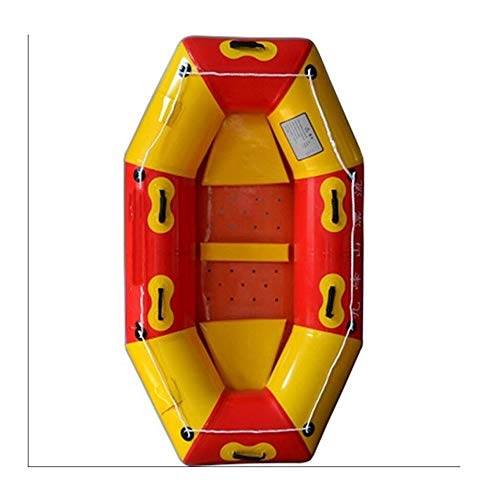 LLSZ Drift Boat Two People Kayak Thick Inflatable Boat Tourist Boat Scenic Special Dinghy wear Four-Person Kayak