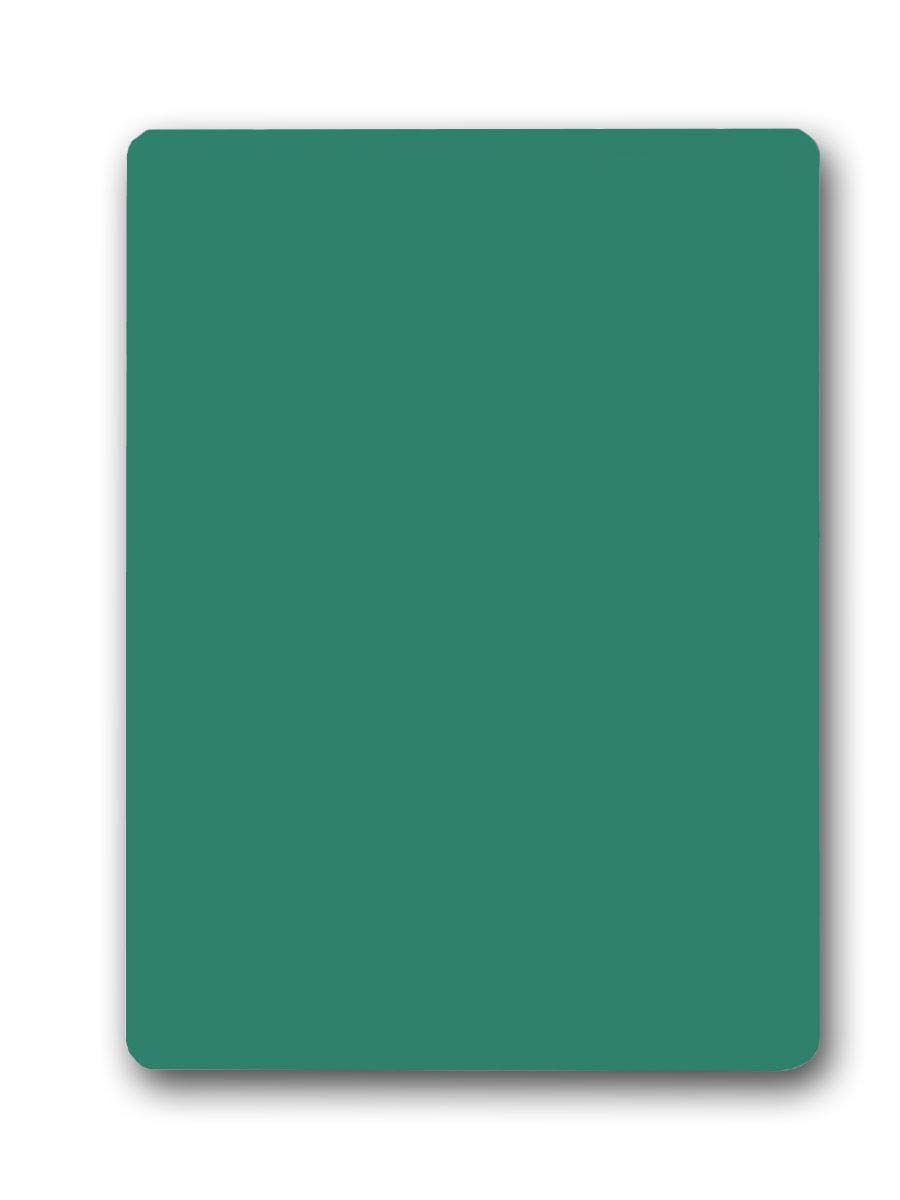 Pack of 12 Green Chalk Boards (9.5x12in)