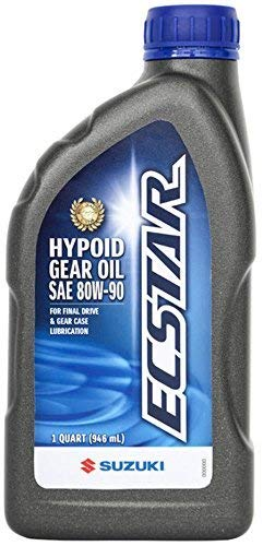 Suzuki ECSTAR Hypoid Gear Oil 1 US Quart 990A0-01E80-01Q (90 Hypoid Gear)