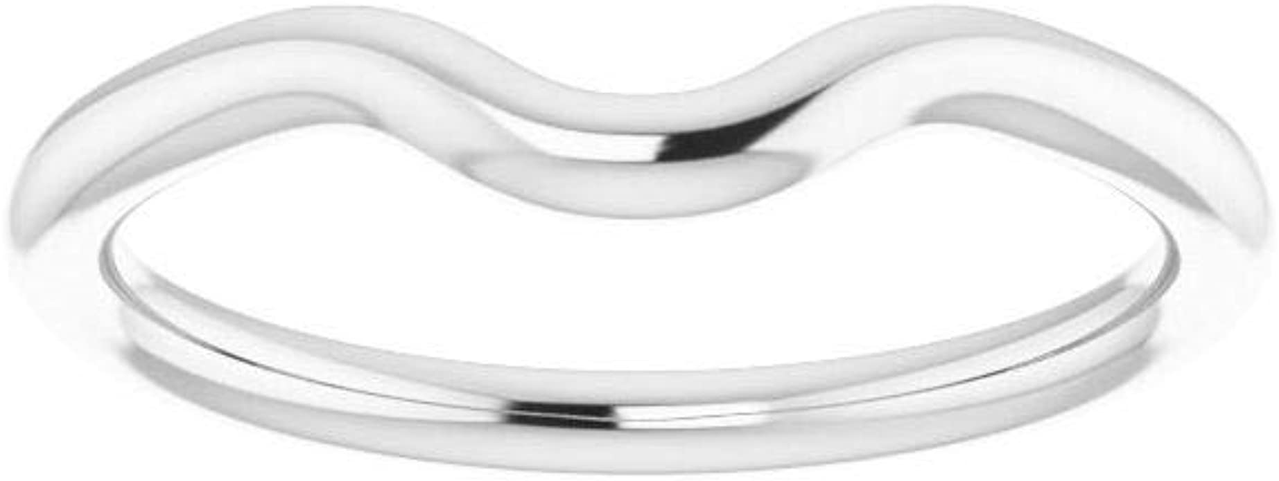 Size 7 Bonyak Jewelry Continuum Sterling Silver Band for 5.5 mm Round Ring