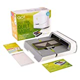 AccuQuilt GO! Big Electric Fabric Cutter Starter Set with GO! Big Electric Fabric Cutter, GO! Flying Geese Die, 6' x 12' Cutting Mat and a 20 Page Pattern Booklet.