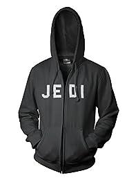 Star Wars Jedi Classic Saber Poster Mens Black Zip-Up Hoodie Sweatshirt
