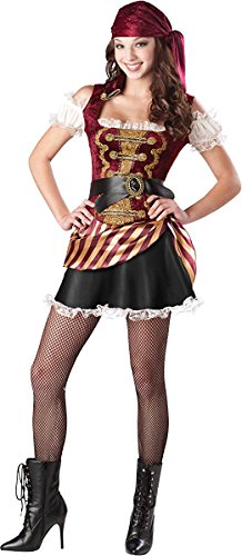 Pirate Babe - Teen Small (Incharacter Pirate Costume)