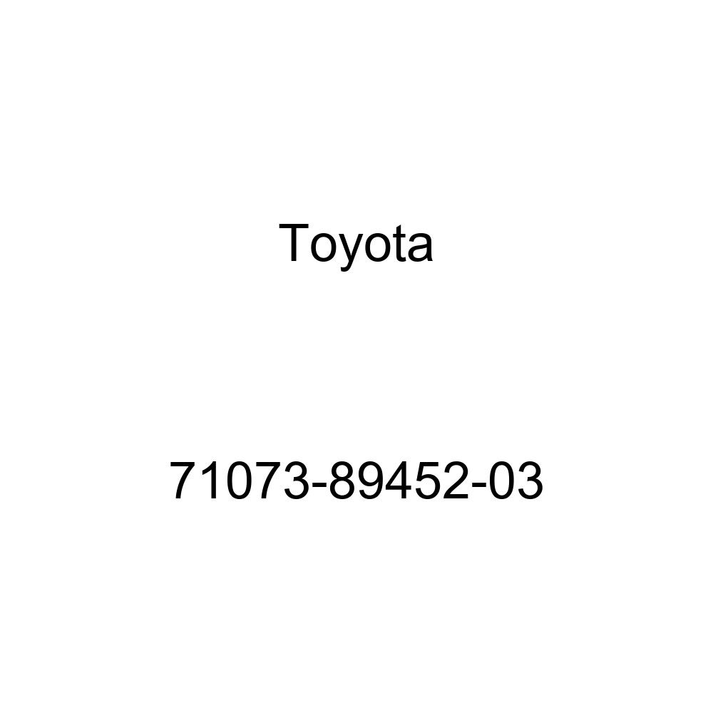 TOYOTA Genuine 71073-89452-03 Seat Back Cover