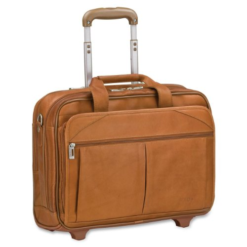 "SOLO Classic Carrying Case (Roller) for 15.6"" Notebook, Accessories - Tan"