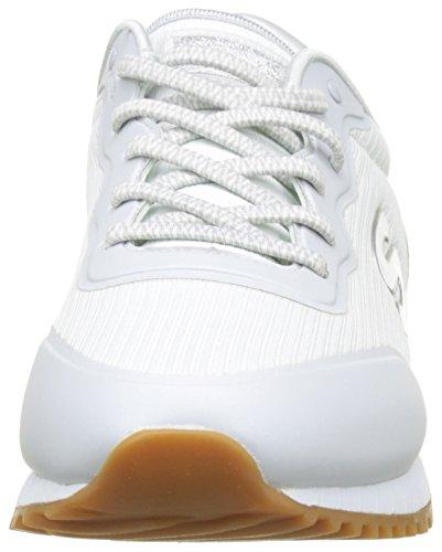 Cordones Skechers vega Para Sin Zapatillas Mujer Blanco Sunlite white wASApZqz