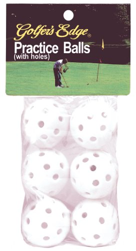 Unique Sports Practice Golf Balls (Pack of 6) by Unique Sports