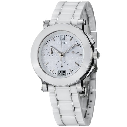 Fendi Women's F662140 Ceramic Stainless Steel and Ceramic Bracelet ()