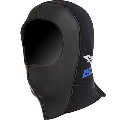 IST Proline HDN0250 5mm Super Stretch Neoprene Dive Hood with Zip (Super Stretch Hood)