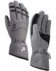EXski Warm Winter Gloves Waterproof Running Driving Work Touchscreen Outdoor Hiking Gloves 3M Thinsulate Women Men