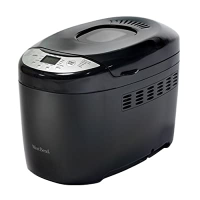 West Bend 41410 Hi-Rise Loaf Programmable Breadmaker, 2.5-Pound