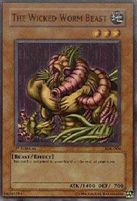 Yu-Gi-Oh! - The Wicked Worm Beast (SDK-004) - Starter Deck Kaiba - Unlimited Edition - Common