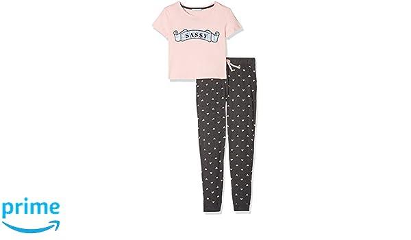 New Look 915 Sassy Foil Long Leg, Conjuntos de Pijama para Niñas, Rosa (Light Pink 70), Medium: Amazon.es: Ropa y accesorios