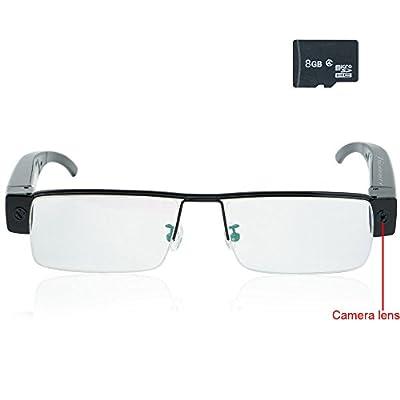 SpyGear-Toughsty™ 8GB 1920x1080P HD Hidden Camera Video Glasses Eyewear DV Camcorder with Audio Recording Function - Toughsty Technology (ShenZhen) Co.,Ltd