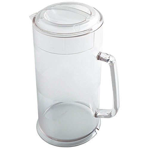 r 64-Ounce Pitcher, Set of 6 (Polycarbonate, Clear) (Ice Lip Jug)