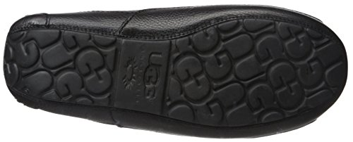 D Slipper 17 Ascot Ugg Black Leather Men's m xRfU4T