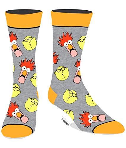 Disney The Muppets Crew Socks Beaker and