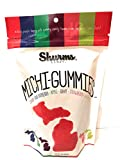 Michi-Gummies Shurms Michigan Shaped Fruit Flavored Gummy Candy - 8 oz Bag