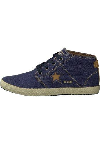 Converse - Zapatillas de tela para mujer Azul azul