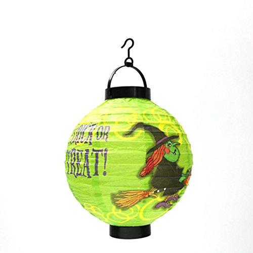 Halloween Lantern, Misaky Party Telescopic Toy Household Indoor Outdoor Decor (2122CM, # (Graveyard Girl Halloween 2017)