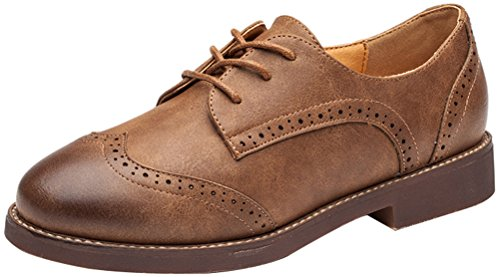 tmates-womems-fashion-synthetic-leather-comfort-brogue-lace-up-oxford-dress-shoes-75-bmusbrown