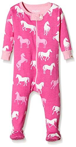 Hatley Classic Horses Footed Coverall