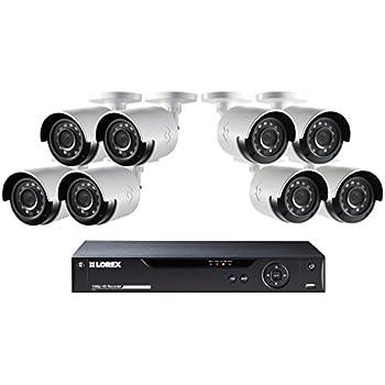 Lorex HD 16 Channel Security DVR System & 8-1080p HD Cameras & 2TB HDD #LHV1628