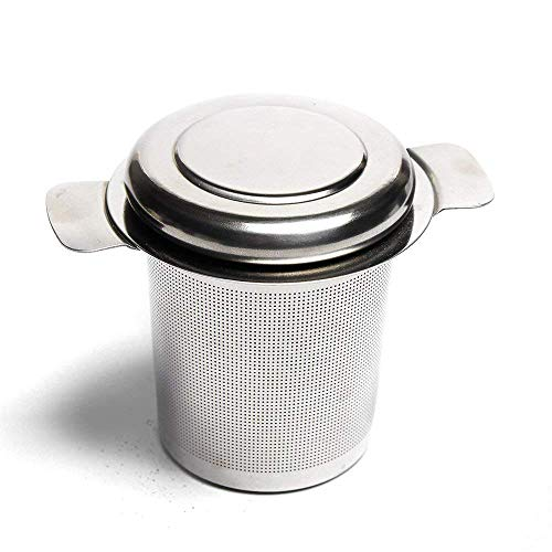 VAHDAM Classic Tea Strainer & Tea Maker FDA Approved Stainless Steel | MESH with LID | Can be Used with a Tea Pot, Tea Cup, Tea Mug to Brew Loose Leaf Tea | Durable Tea Strainer by VAHDAM