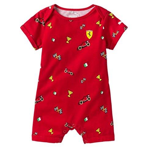 selezione premium moda di lusso vendita a buon mercato nel Regno Unito PUMA TUTINA SCUDERIA FERRARI INFANTS ROMPER ROSSO CORSA (6/9 ...