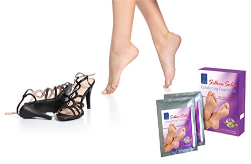Foot Peel Mask Exfoliant 3 X 2 Pack Lavender Dry Skin Feet Treatment for Baby Soft Silken Soles by VIDI by VIDI (Image #4)