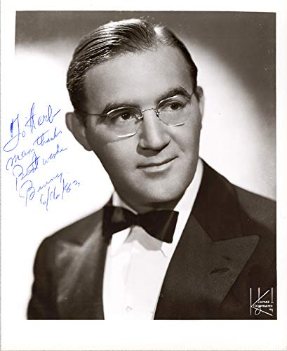 benny goodman autograph - 3