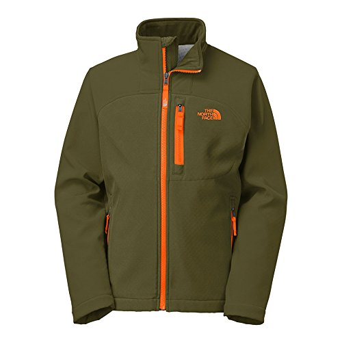 The North Face Shellrock Softshell Jacket - Boys' Forest Night Green, L(14/16)