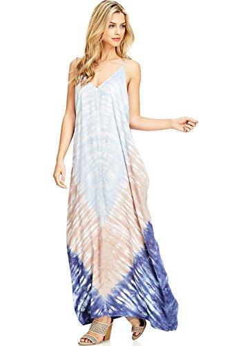 Love Stitch Women's Harem Fit Summer Maxi Dress (S/M, (Love Stitch)