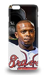 MLB Atlanta Bravs Justin Upton #8 Fashionable For HTC One M7 Phone Case Cover ( Custom Picture For HTC One M7 Phone Case Cover )