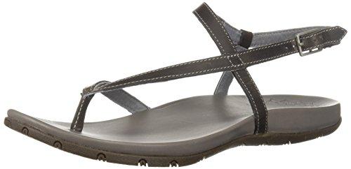 Chaco Women's Rowan Sandal, Grey, 9 Medium US