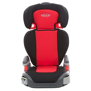 Graco Junior Maxi Group 2 3 Car Seat With Cup Holders In Black Red