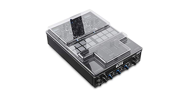 Decksaver DS-PC-RPTURNTABLE Impact Resistant Polycarbonate Cover for Reloop RP-8000 and RP-7000 Turntables