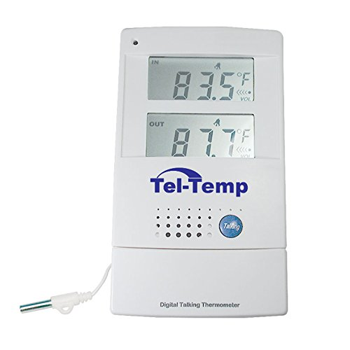 (Tel-Temp Talking Indoor-Outdoor Thermometer)