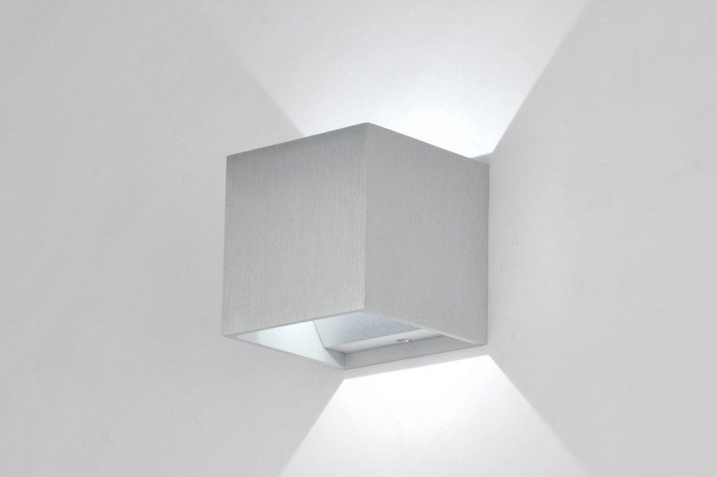Lumidora Wandleuchte Modern Design Gebuerstetes