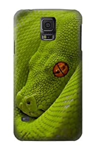 S0785 Green Snake Case Cover For Samsung Galaxy S5