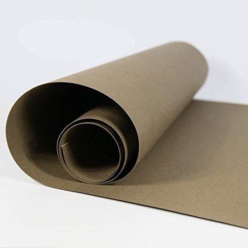 SnapPap vegan dark brown SnapPap chocolate 50 x 150 cm washable leather