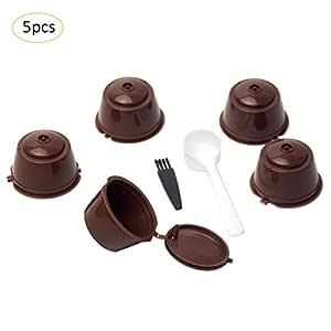 ibàste Cápsulas de Café Cup Juego Combinación filtro de café Cup ...