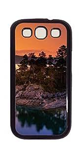 Design Phone Protective Cover Samsung case I9300 - American landscape