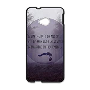 RELAY Dropped dead man Cell Phone Case for HTC One M7