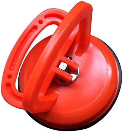 オレンジカーデントプーラー吸盤真空サクションカップタイル抽出装置フロア吸盤凹みを取り除くあられピットリフトリフターキャリア-オレンジ
