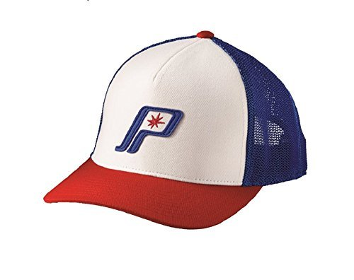 Polaris Mens 'Merica Retro Cap Hat Red/White/Blue (Polaris Baseball Hat)