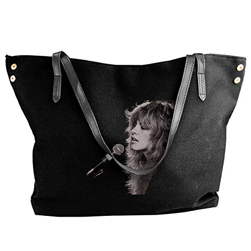 Canvas Tote Bag Divinity Stevie Nicks Totes Purse Handbags Shoulder Bags For Women (Stevie Diaper Bag)